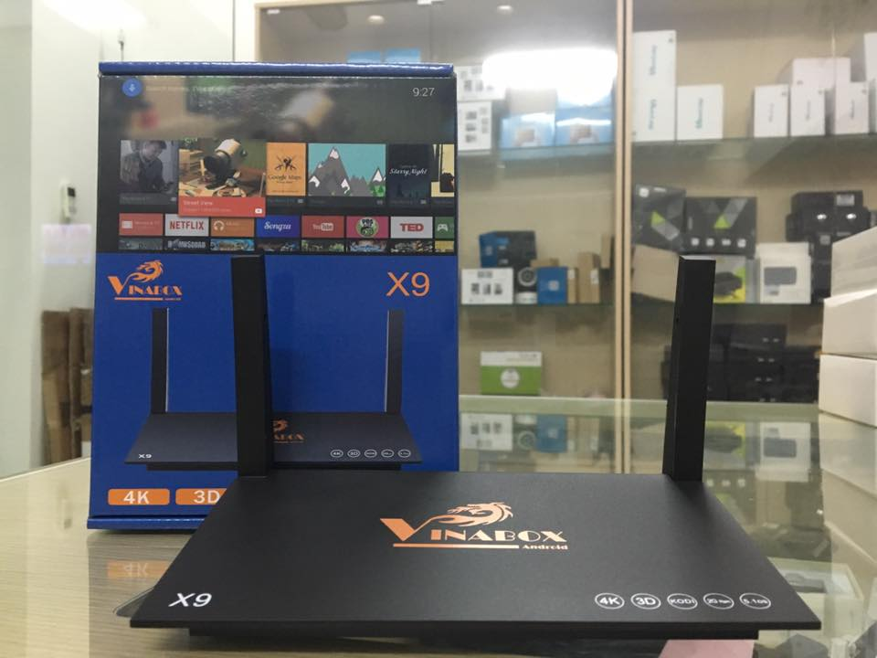 VINABOX X9 - RAM 2G, ANDROID 5.1, 4K